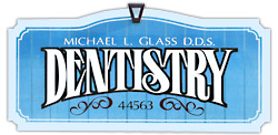 Dr. Michael L. Glass Office Sign
